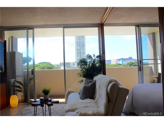 University Villa condo # 605, Honolulu, Hawaii - photo 1 of 11