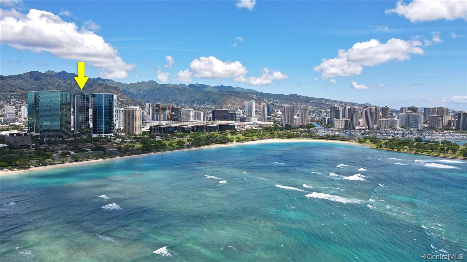 Waihonua condo # 1808, Honolulu, Hawaii - photo 24 of 24