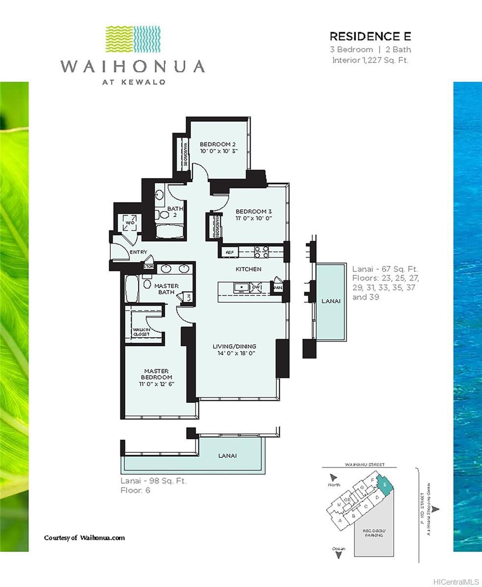 Waihonua condo # 2305, Honolulu, Hawaii - photo 17 of 25