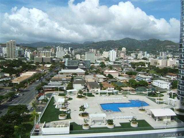 Moana Pacific condo #I-1609, Honolulu, Hawaii - photo 1 of 5