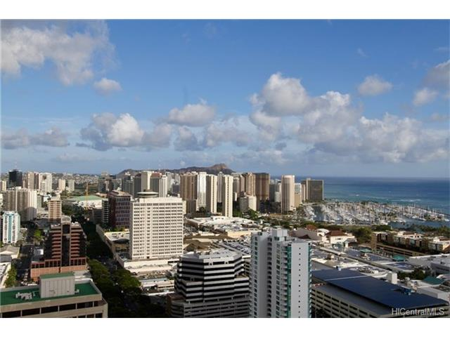 Moana Pacific condo ##I 4504, Honolulu, Hawaii - photo 1 of 17