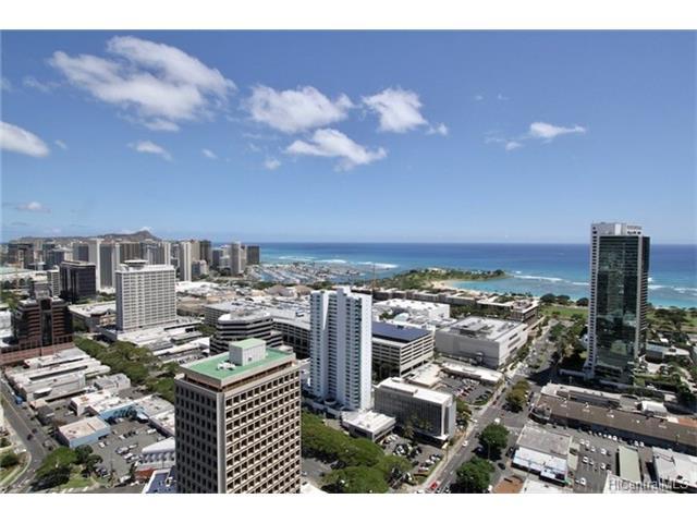 Moana Pacific condo #E 4505, Honolulu, Hawaii - photo 1 of 15