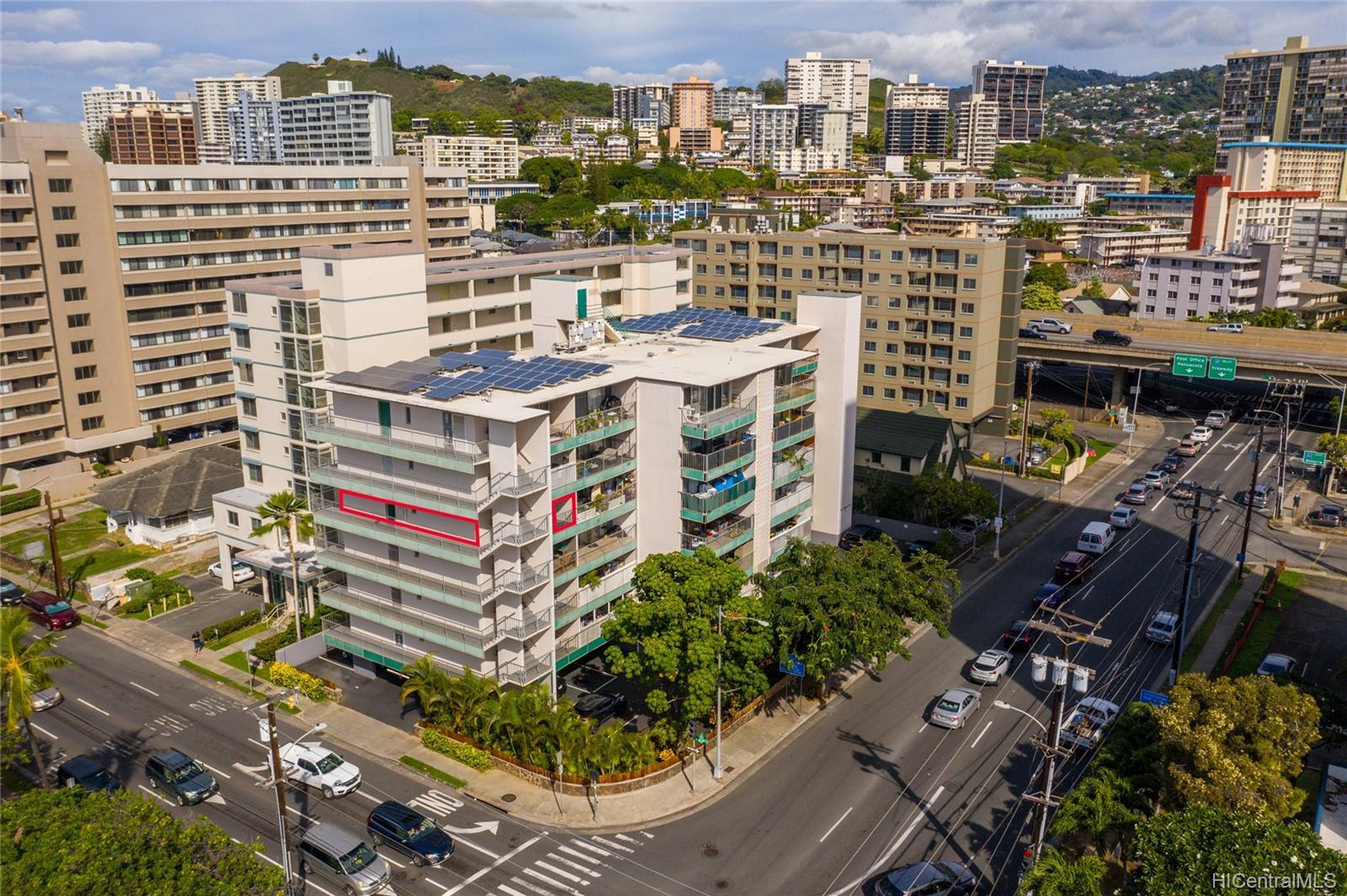 Piikoi Terrace condo # 501, Honolulu, Hawaii - photo 20 of 24