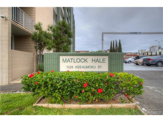 Matlock Hale condo #803, Honolulu, Hawaii - photo 1 of 22