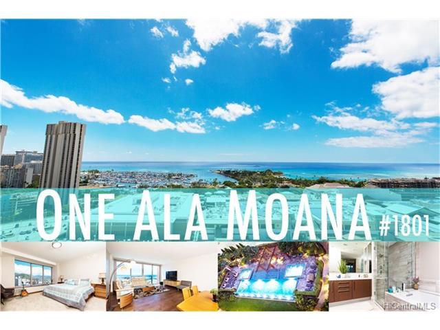 One Ala Moana condo #1801, Honolulu, Hawaii - photo 1 of 19