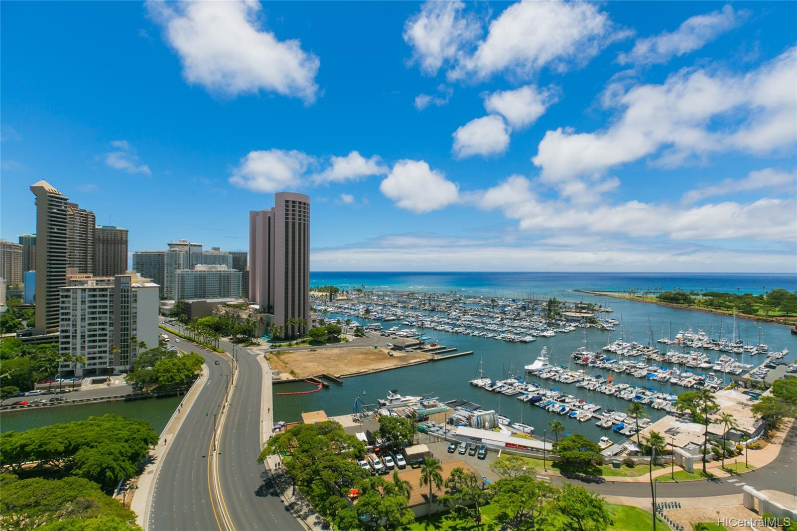 Yacht Harbor Towers condo # 2106, Honolulu, Hawaii - photo 1 of 24