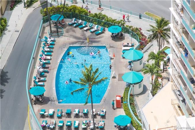 Ilikai Apt Bldg condo # 1517, Honolulu, Hawaii - photo 14 of 17