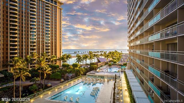 Ilikai Apt Bldg condo # 612, Honolulu, Hawaii - photo 1 of 20