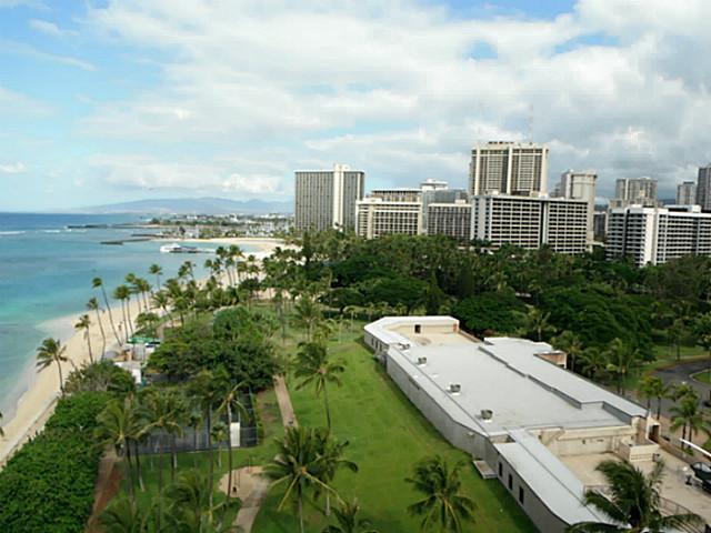 Waikiki Shore condo #1204, Honolulu, Hawaii - photo 1 of 12