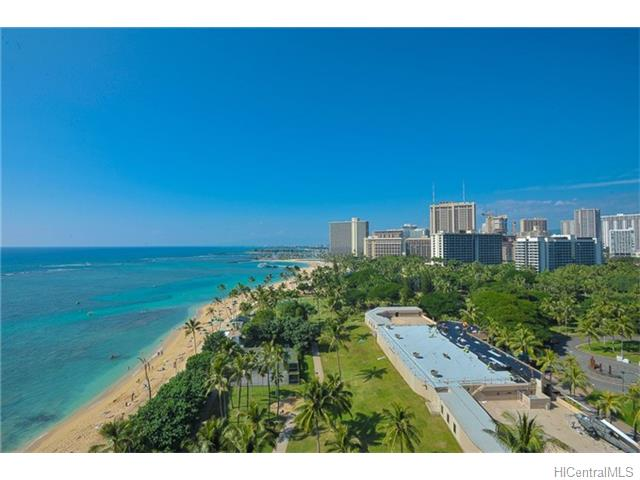 Waikiki Shore condo #1305, Honolulu, Hawaii - photo 1 of 10