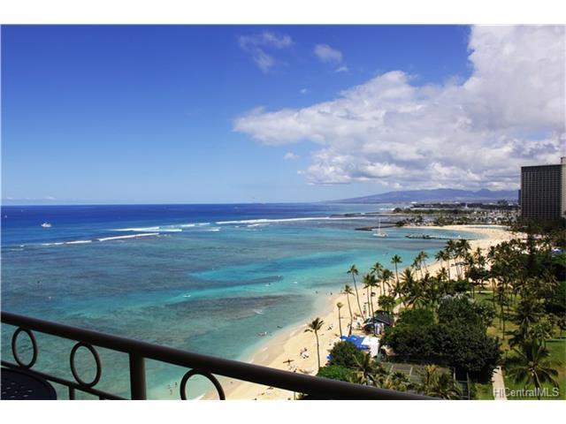 Waikiki Shore condo #1404, Honolulu, Hawaii - photo 1 of 20