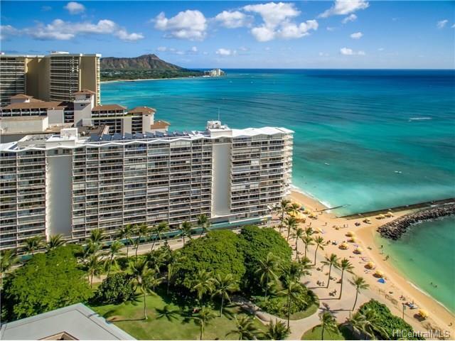 Waikiki Shore condo #206, Honolulu, Hawaii - photo 1 of 7