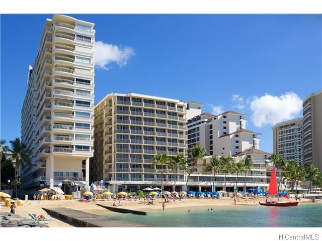 Waikiki Shore condo #406, Honolulu, Hawaii - photo 1 of 16
