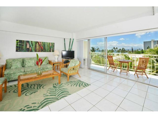 Waikiki Shore condo # 516, Honolulu, Hawaii - photo 1 of 15
