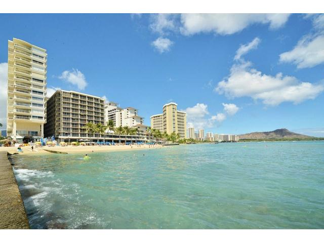 Waikiki Shore condo # 516, Honolulu, Hawaii - photo 14 of 15