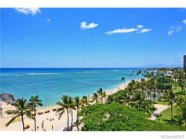 Waikiki Shore condo #805, Honolulu, Hawaii - photo 1 of 14