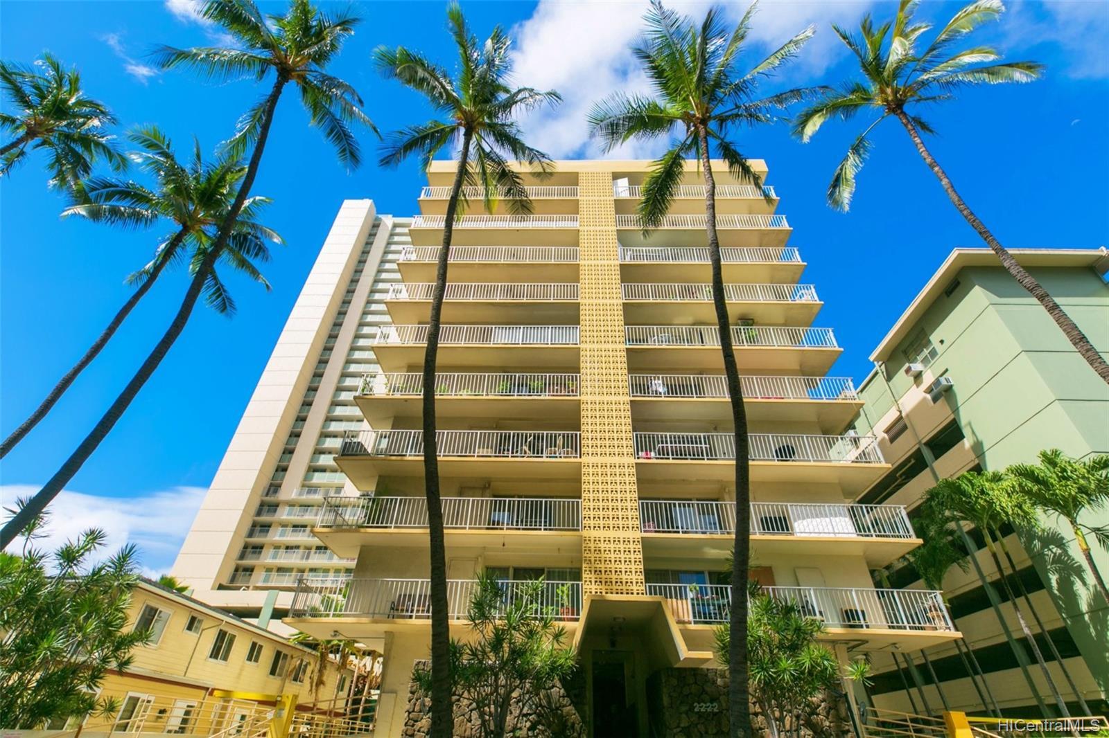 Coral Terrace Apts condo # 804, Honolulu, Hawaii - photo 1 of 19