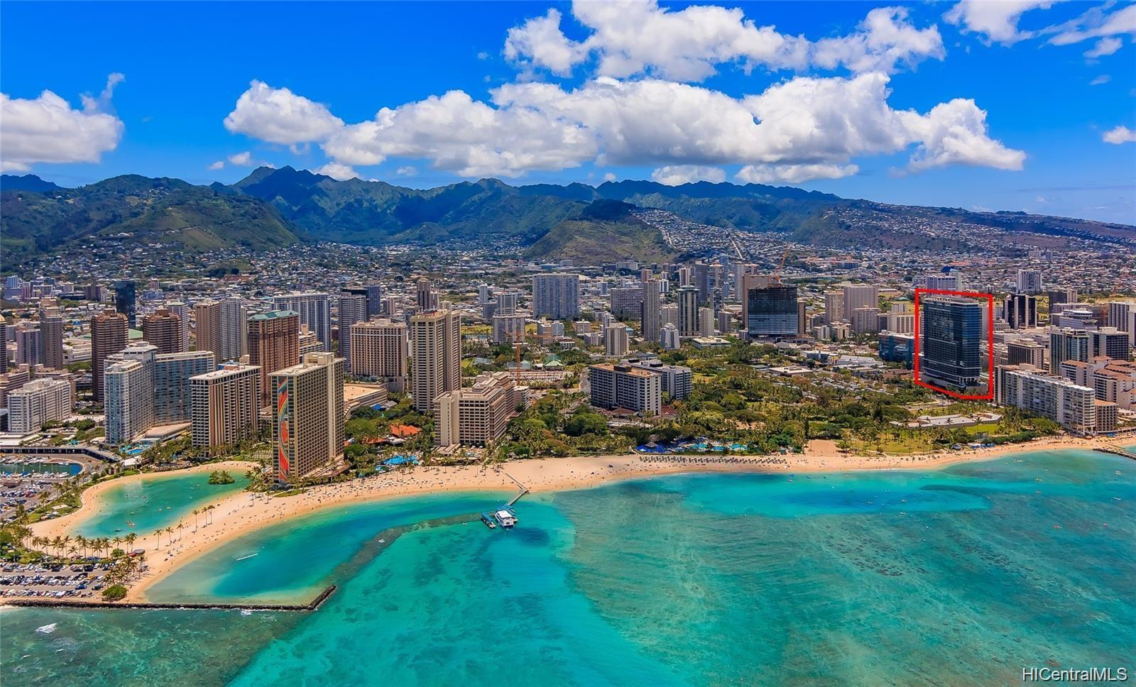 Trump Tower Waikiki condo # 818, Honolulu, Hawaii - photo 1 of 14