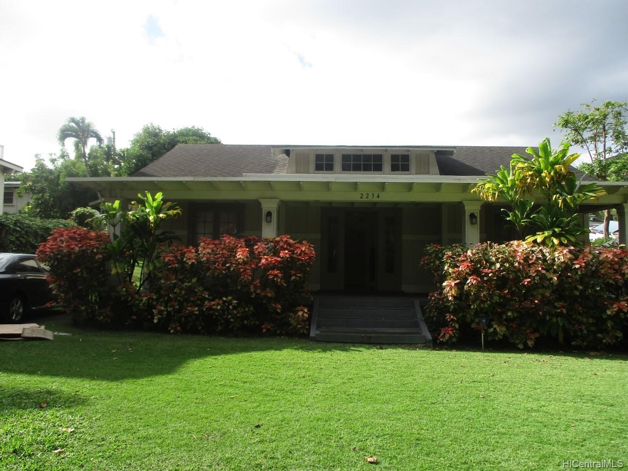 2234  University Ave Manoa Area, Honolulu home - photo 1 of 19