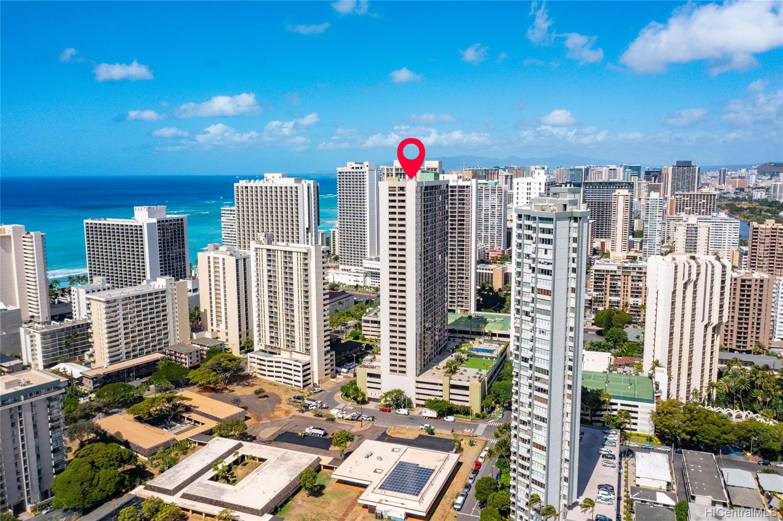 Waikiki Sunset condo # 2205, Honolulu, Hawaii - photo 20 of 20