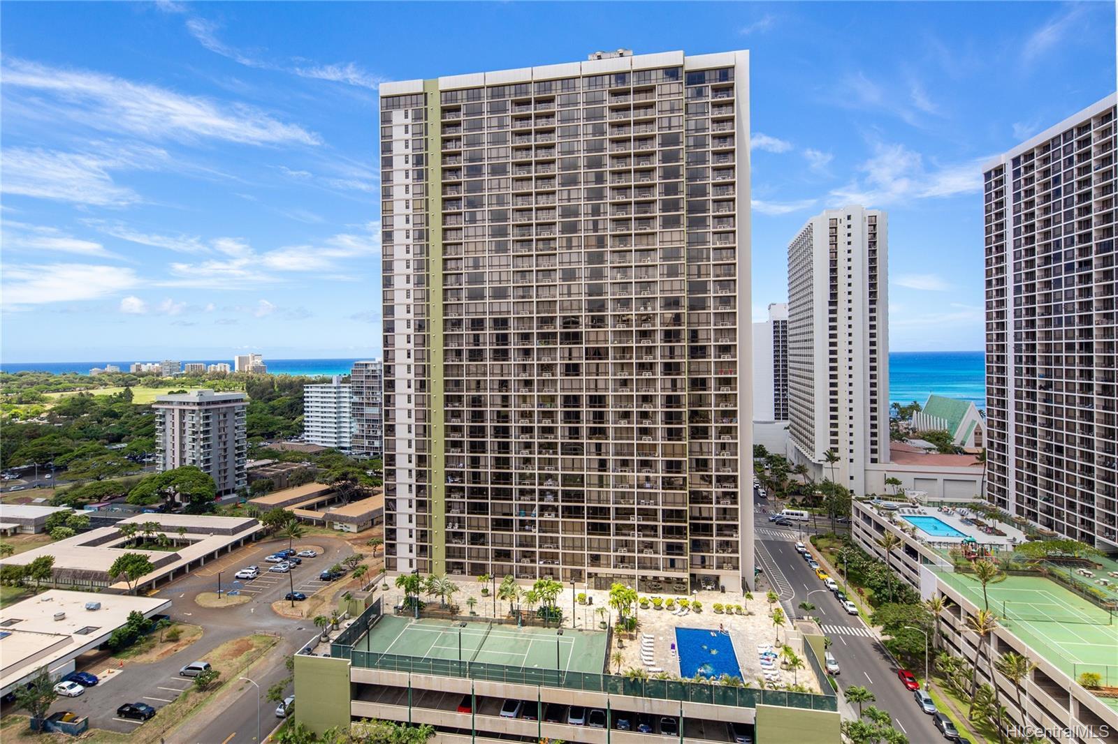 Waikiki Sunset condo # 3507, Honolulu, Hawaii - photo 19 of 19
