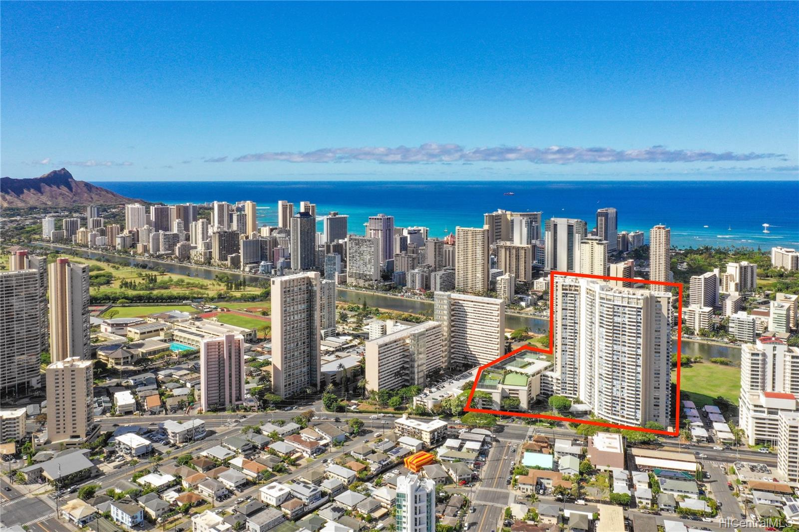 Marco Polo Apts condo # 2505, Honolulu, Hawaii - photo 21 of 21