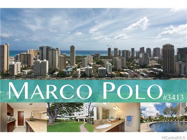 Marco Polo Apts condo # 3413, Honolulu, Hawaii - photo 1 of 15