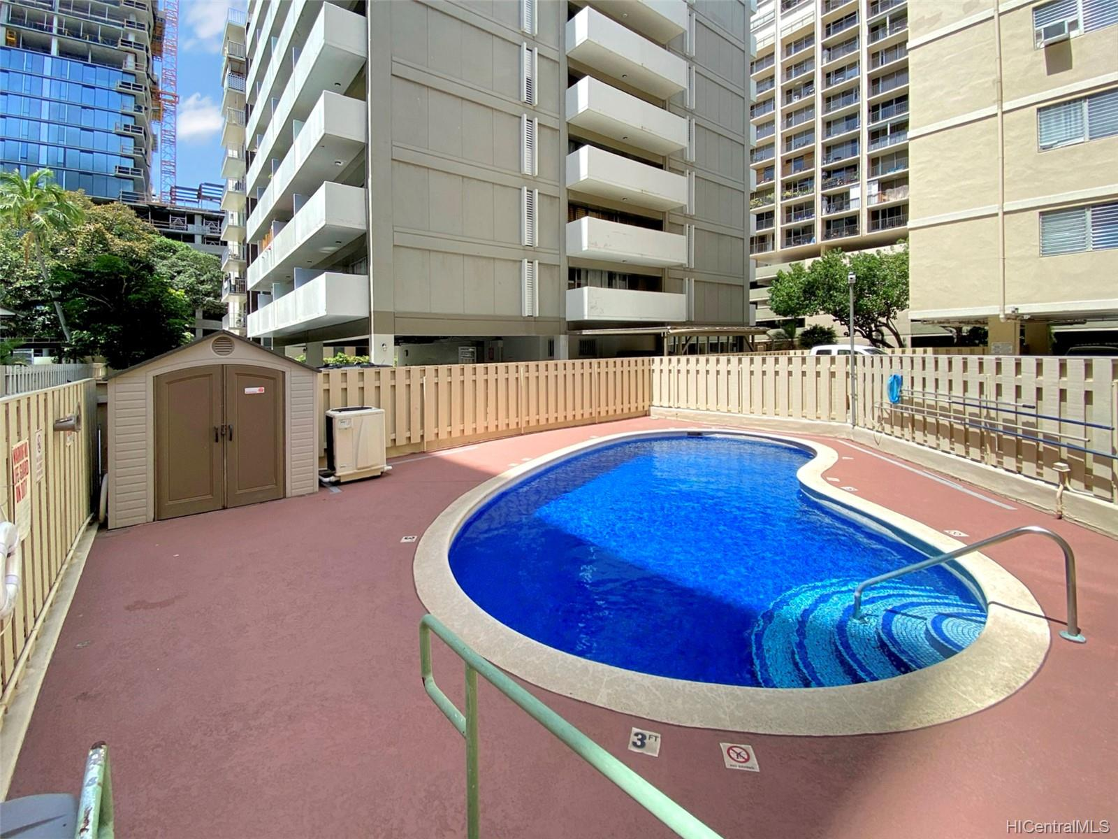 Ala Wai Palms condo # 207, Honolulu, Hawaii - photo 18 of 25