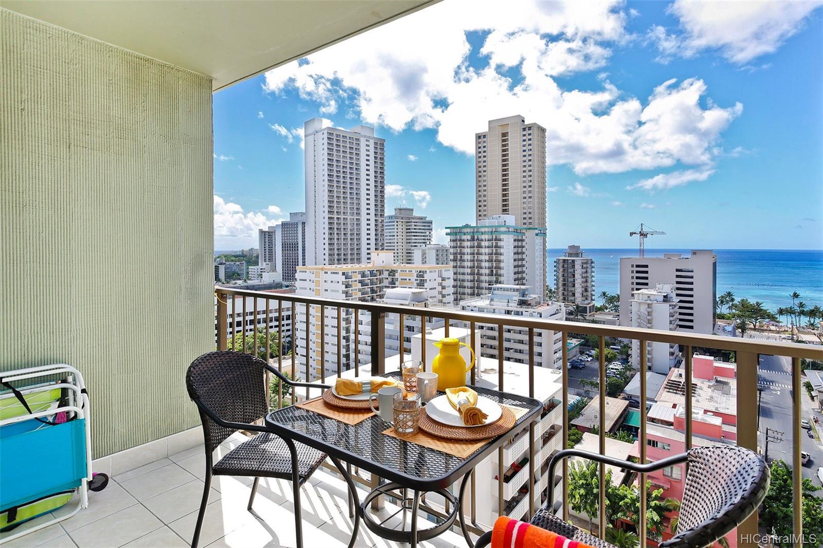 Waikiki Park Hgts condo # 1708, Honolulu, Hawaii - photo 8 of 22