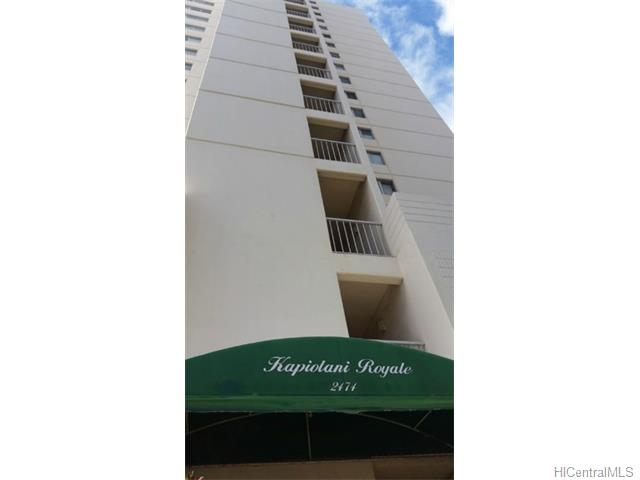 KAPIOLANI ROYALE condo #, Honolulu, Hawaii - photo 1 of 11