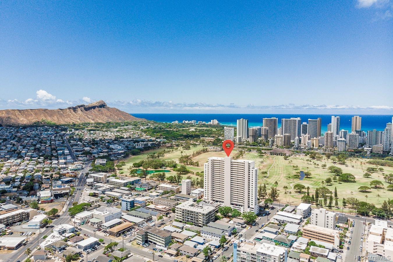 Fairway House condo # 19A, Honolulu, Hawaii - photo 2 of 17