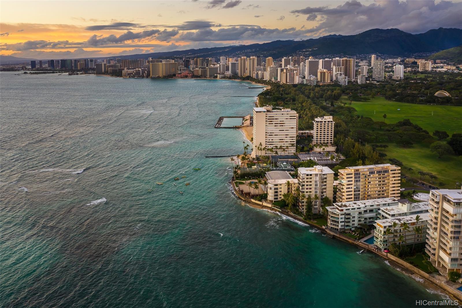 Diamond Head Bch Hotel condo # 705, Honolulu, Hawaii - photo 20 of 21