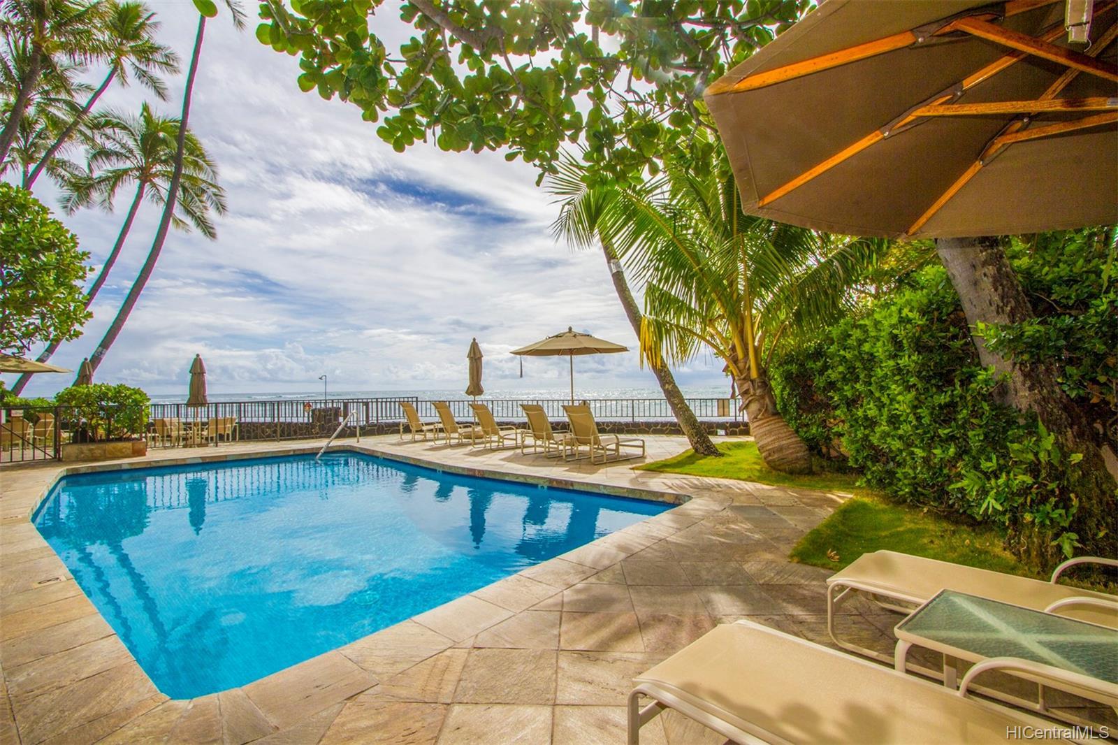 Coral Strand Ltd condo # 207, Honolulu, Hawaii - photo 2 of 22