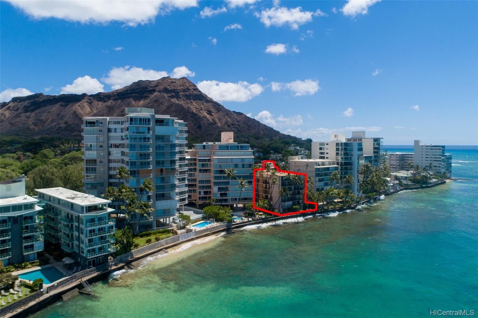 2987 Kalakaua condo # 606, Honolulu, Hawaii - photo 1 of 15