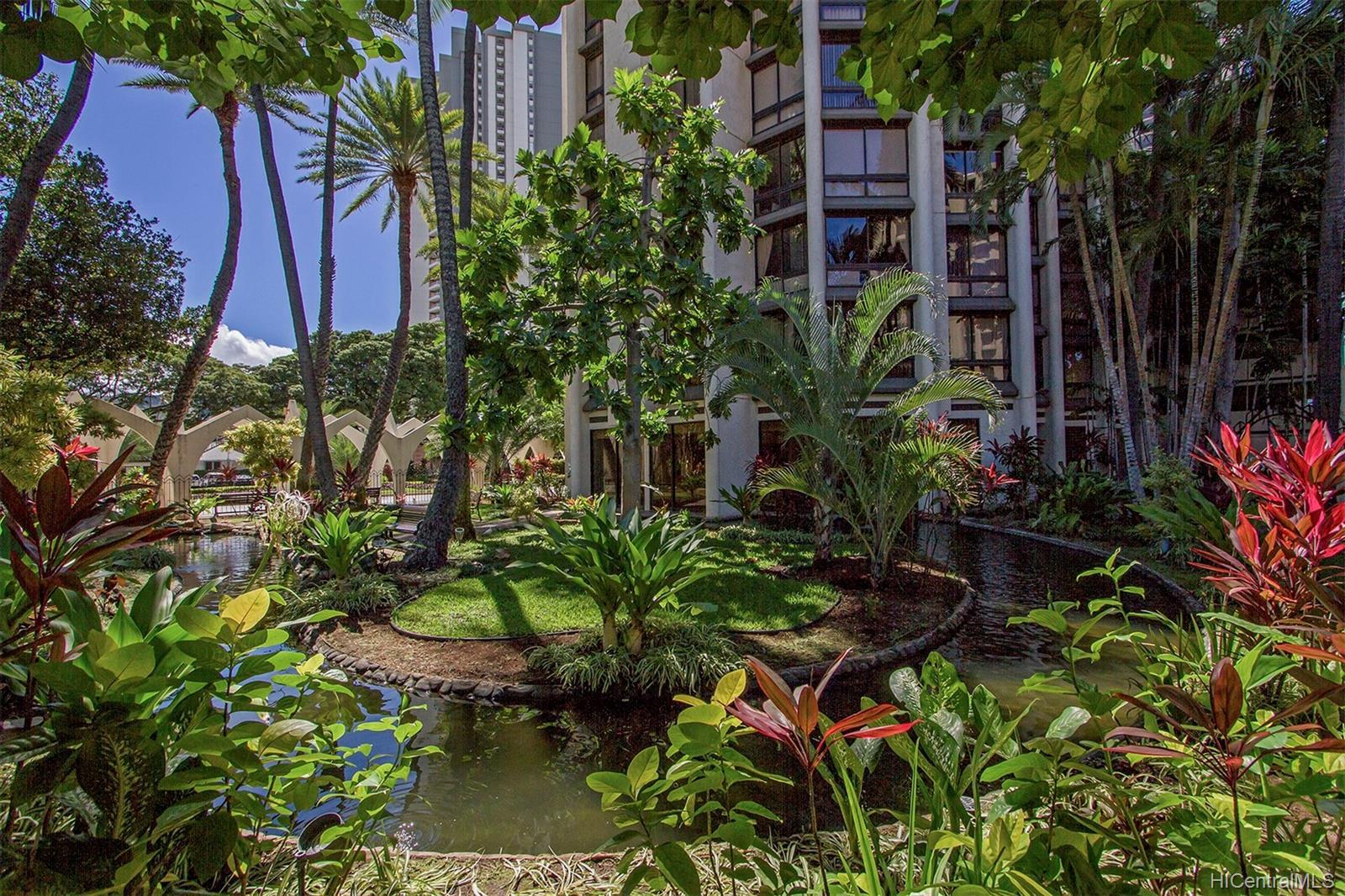 Liliuokalani Gardens condo # I1907, Honolulu, Hawaii - photo 18 of 24