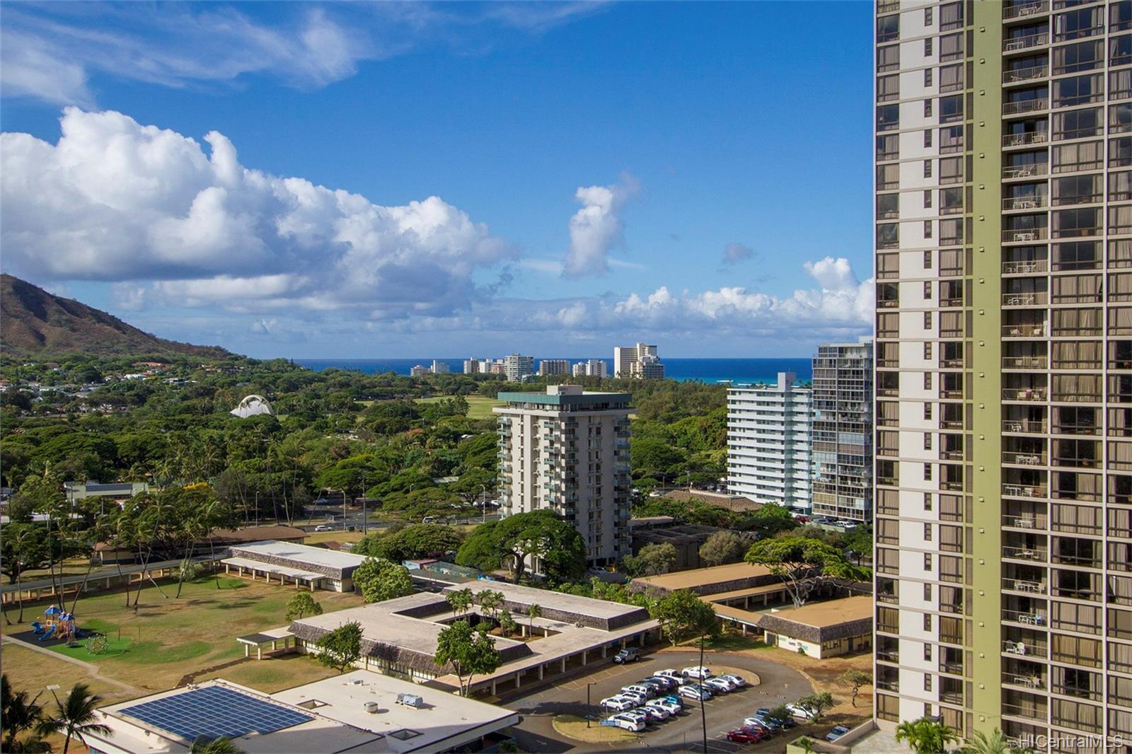 Liliuokalani Gardens condo # I1907, Honolulu, Hawaii - photo 20 of 24