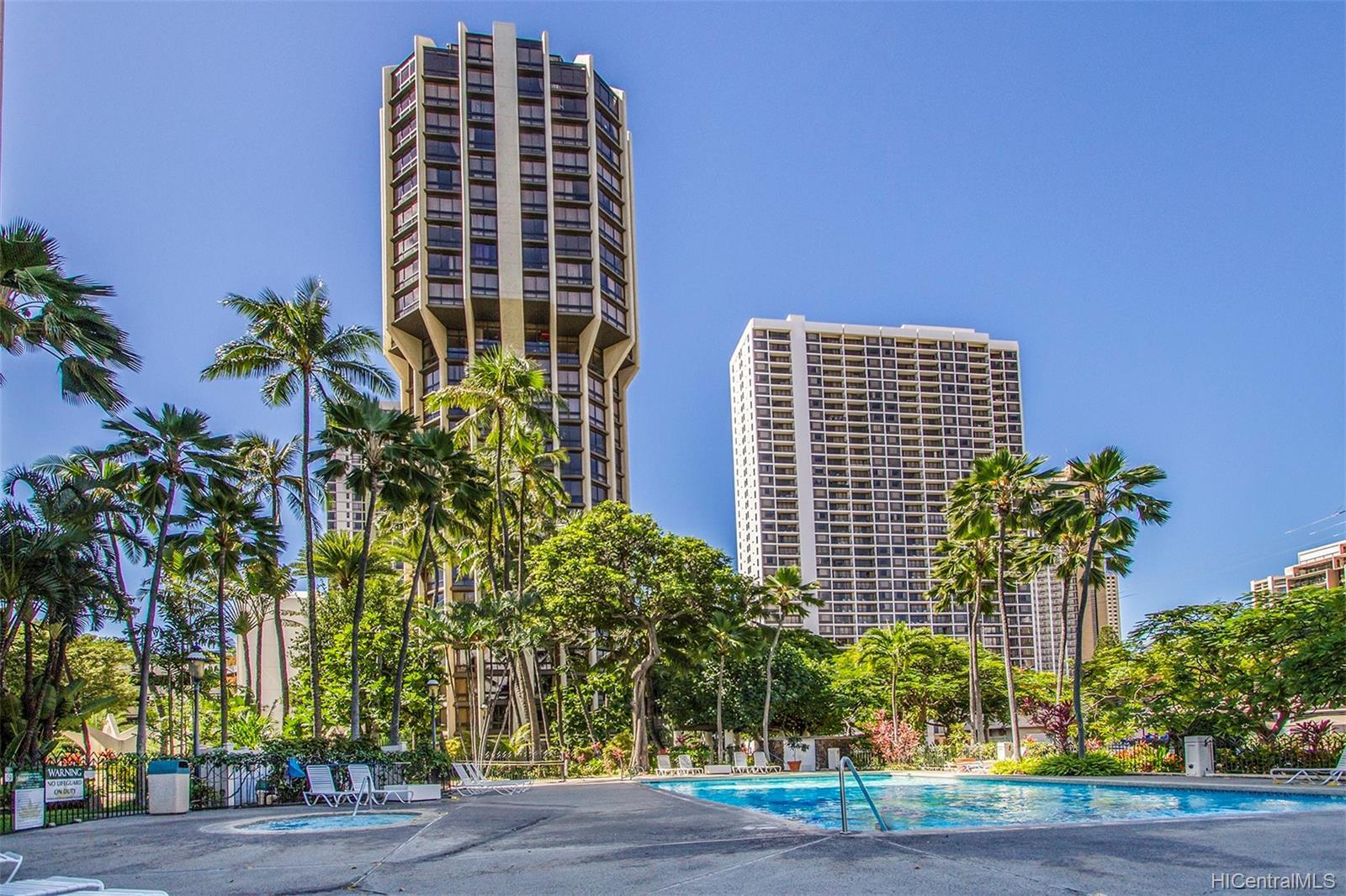 Liliuokalani Gardens condo # I1907, Honolulu, Hawaii - photo 22 of 24