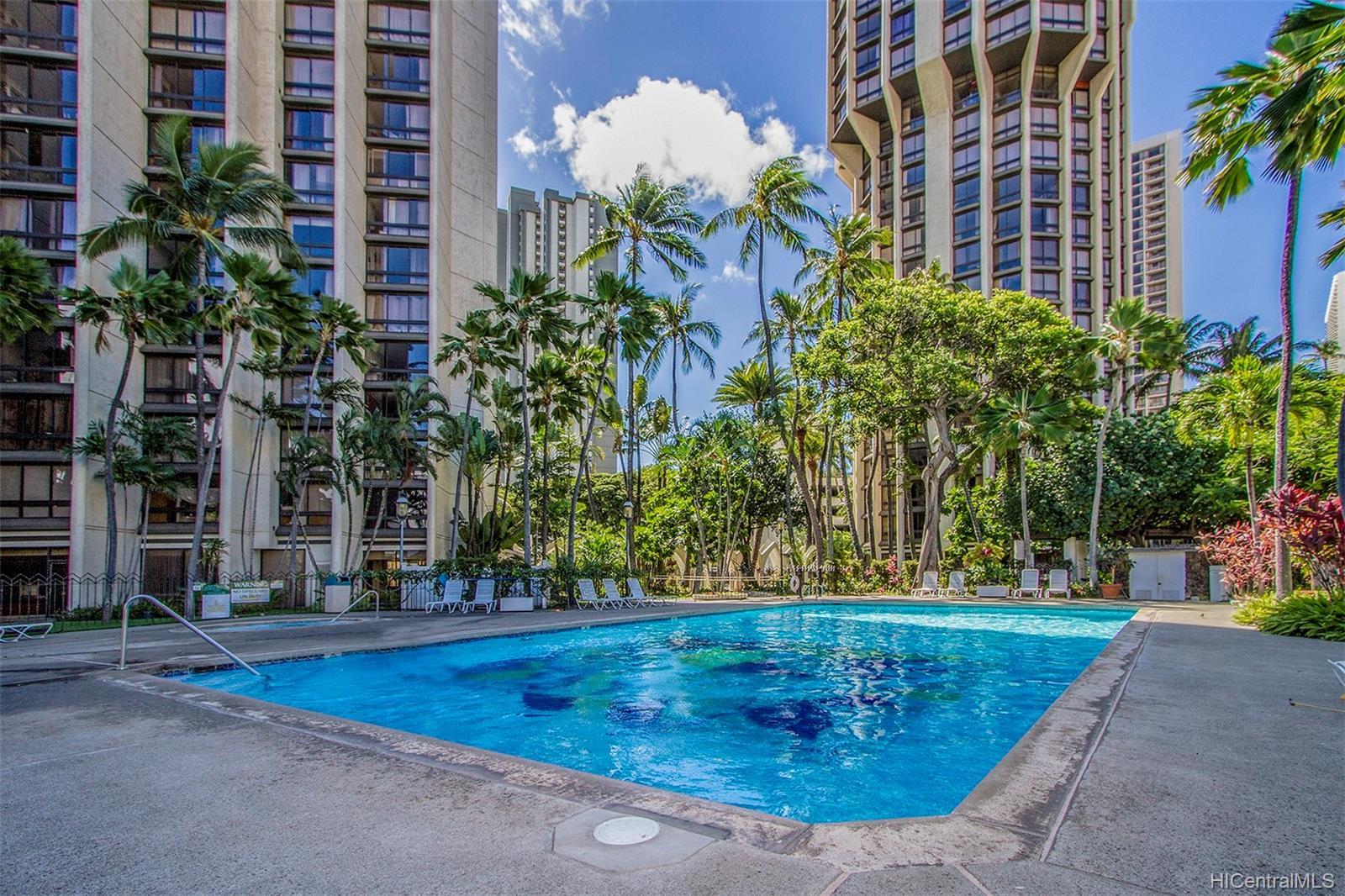 Liliuokalani Gardens condo # I1907, Honolulu, Hawaii - photo 23 of 24
