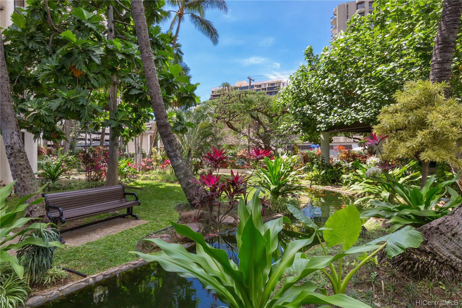 Liliuokalani Gardens condo # 2016, Honolulu, Hawaii - photo 13 of 13