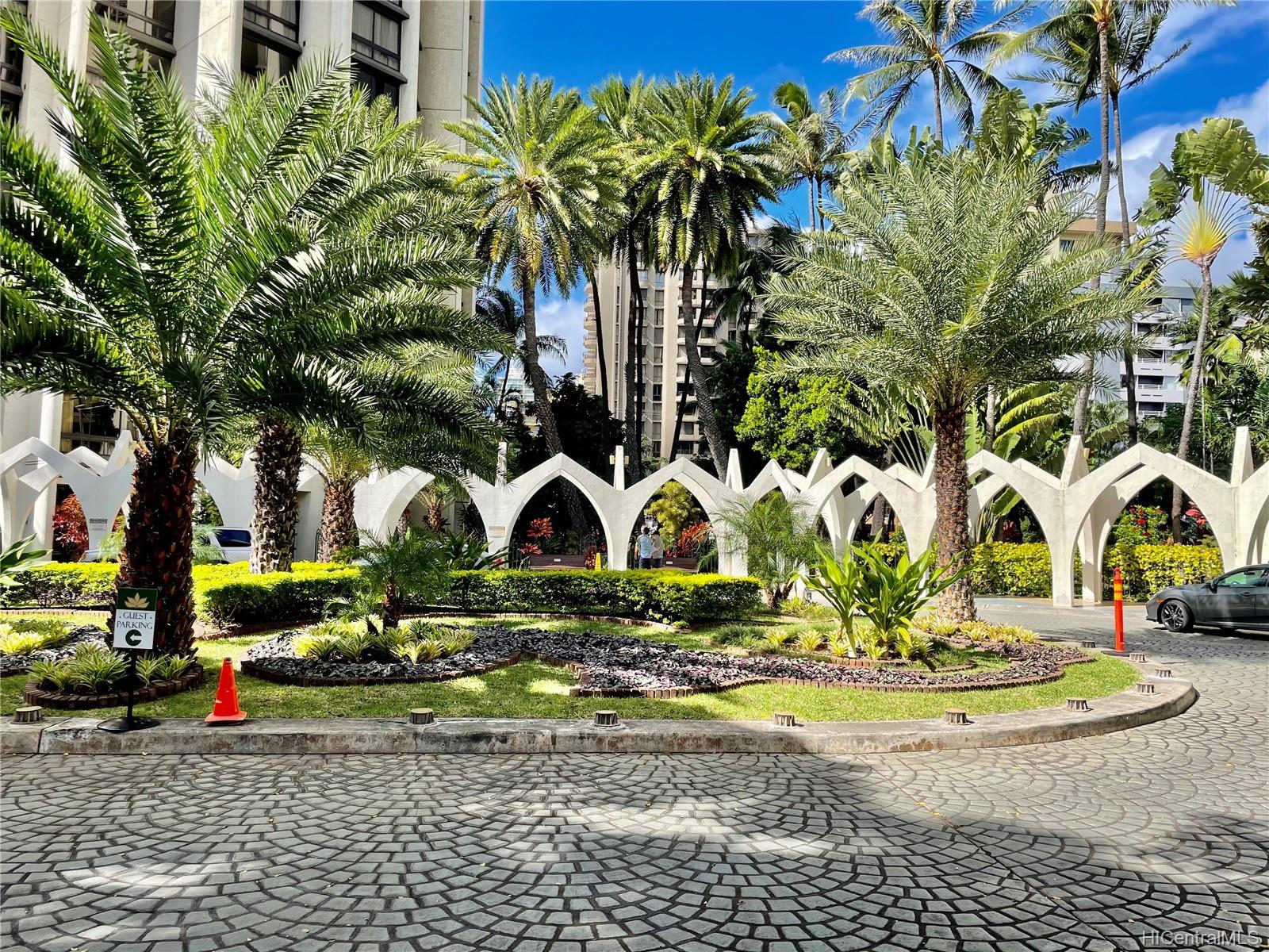 Liliuokalani Gardens condo # I1401, Honolulu, Hawaii - photo 24 of 24