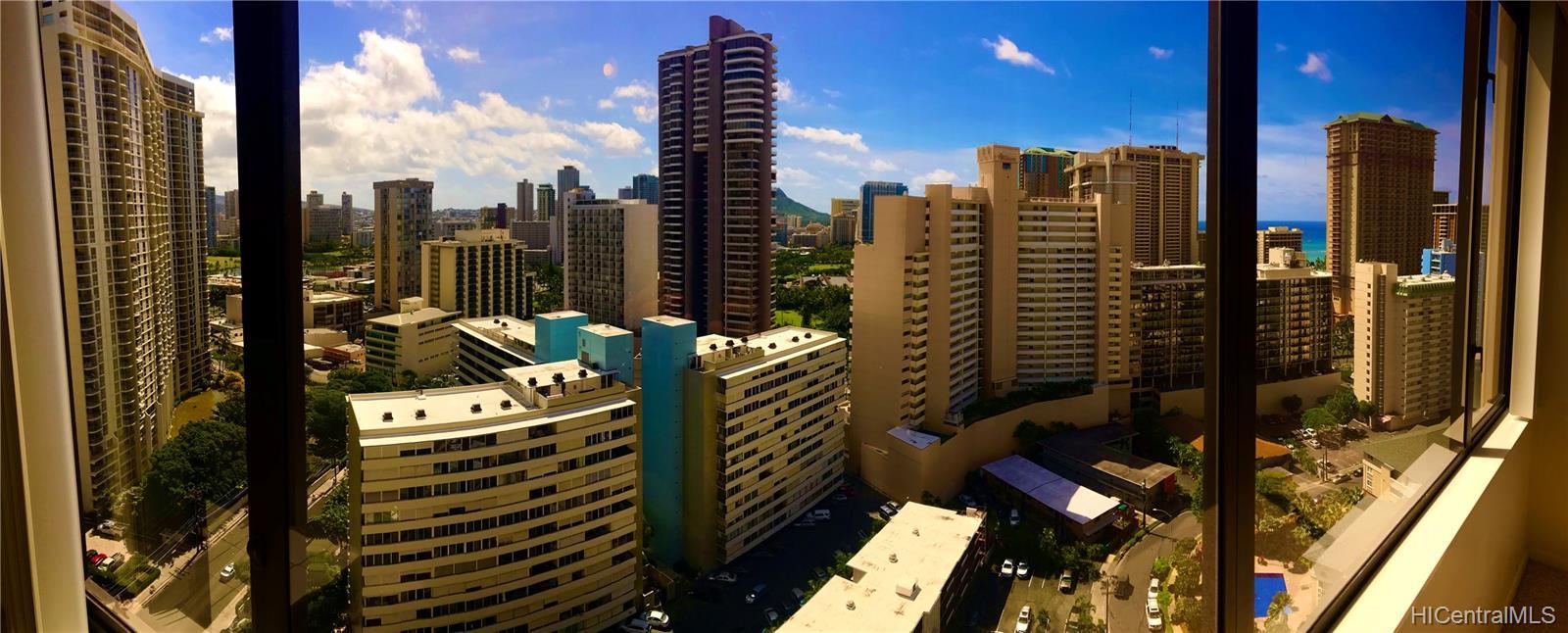 Chateau Waikiki condo # 2405, Honolulu, Hawaii - photo 1 of 9