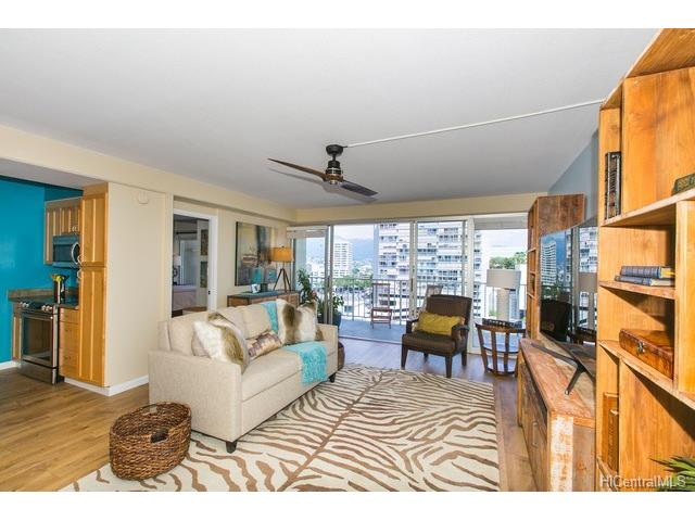 Sunset Towers condo #1003, Honolulu, Hawaii - photo 1 of 10