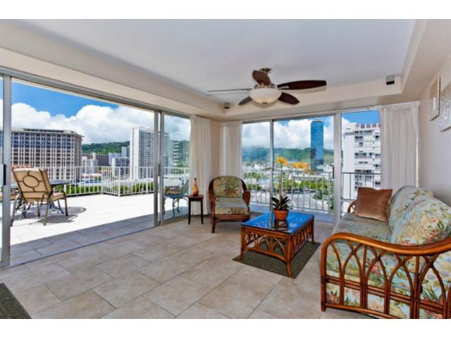 Sunset Towers condo #1201, Honolulu, Hawaii - photo 0 of 16