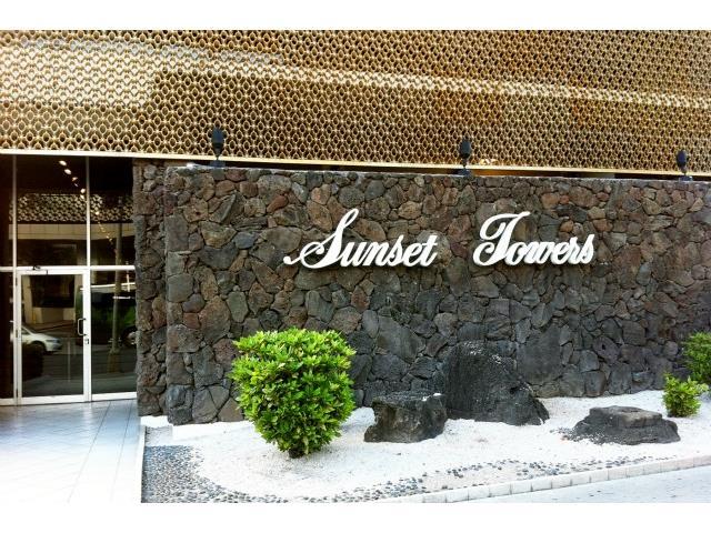 Sunset Towers condo #1405, Honolulu, Hawaii - photo 0 of 17