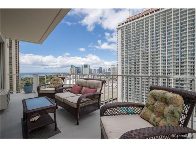 Sunset Towers condo #1905, Honolulu, Hawaii - photo 1 of 19