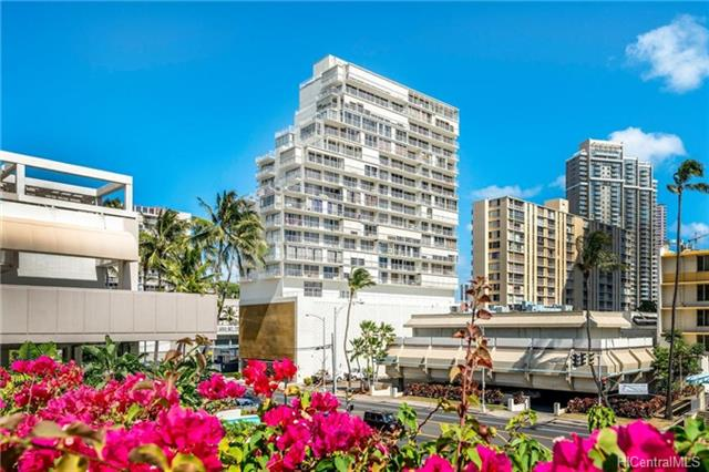 Sunset Towers condo #807, Honolulu, Hawaii - photo 1 of 25