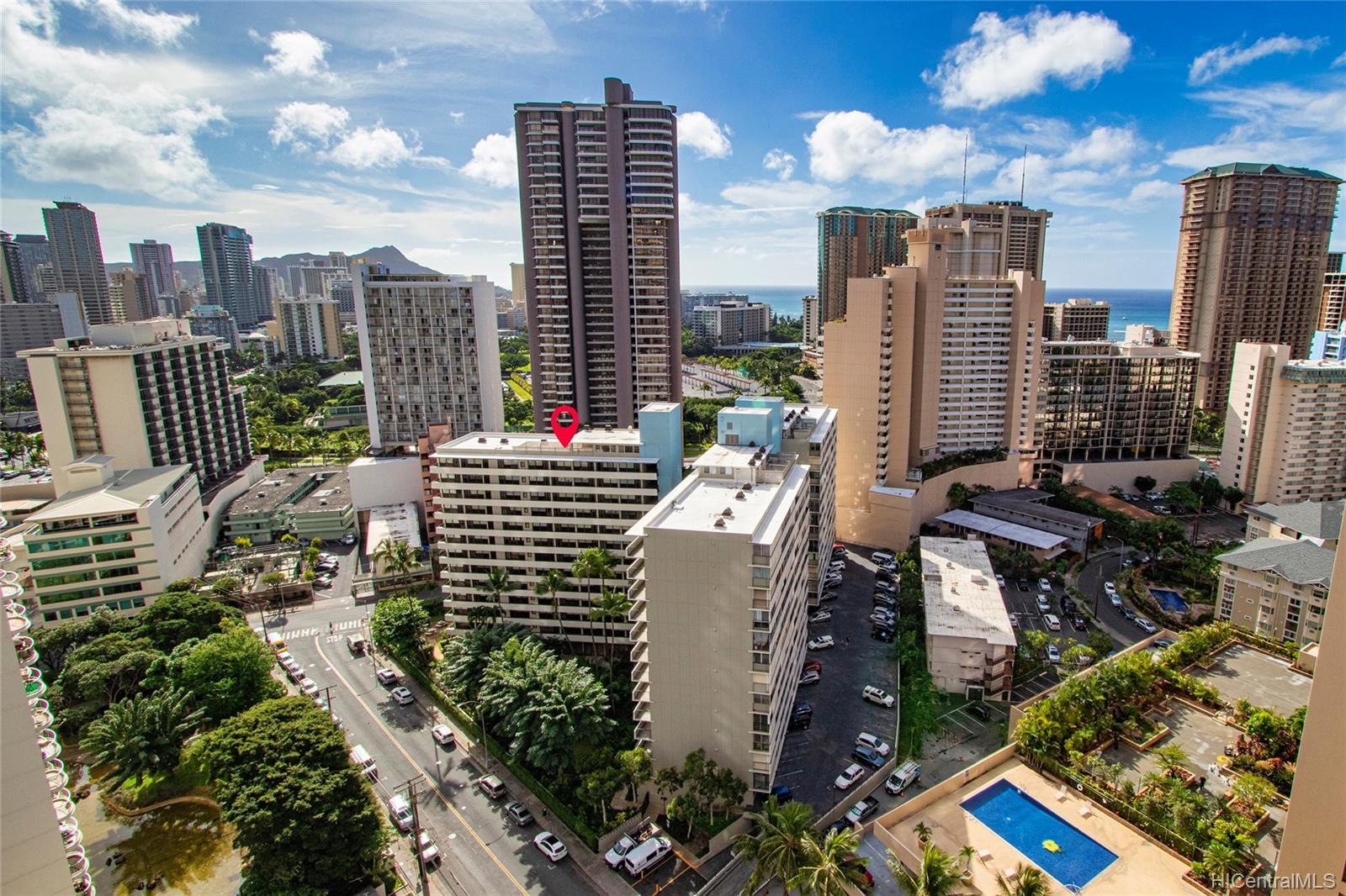 Kalia Inc (B) condo # 802B, Honolulu, Hawaii - photo 16 of 25