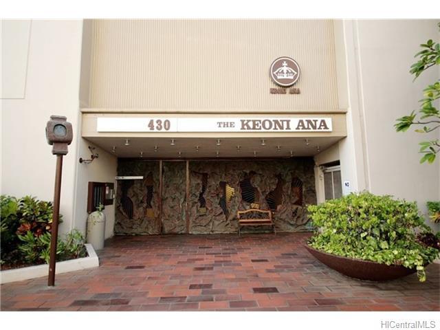KEONI ANA condo #301, Honolulu, Hawaii - photo 1 of 12