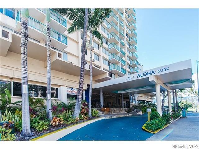 Aloha Surf Hotel condo #1213, Honolulu, Hawaii - photo 1 of 10