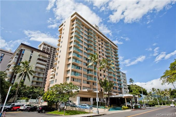 Aloha Surf Hotel condo #1405, Honolulu, Hawaii - photo 1 of 20